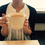 COCO-NOVAのロイヤルミルクティーは特大マグカップでたっぷり!