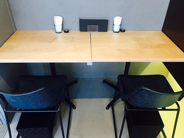 カフェ作業席2 ココノヴァ