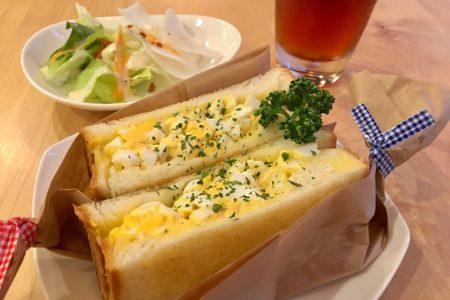 お得なランチセット950円~!トーストサンドにドリンク・ミニサラダ付き!