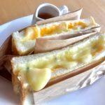 【2019.10.15~】週替わりランチ「クワトロチーズサンド」