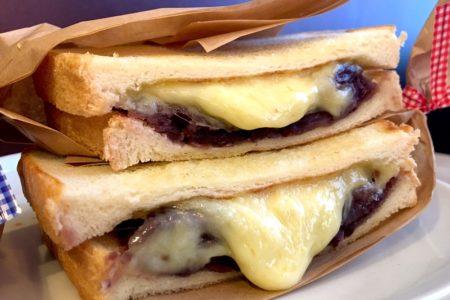 【新メニュー】あんこチーズメルトサンド