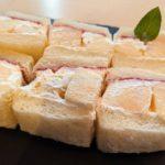 【販売終了】今年の「桃とフランボワーズのサンド」はさらに桃が増量!