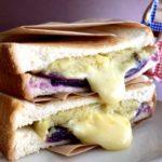 【2020年秋】紫芋とスイートポテトのチーズメルトサンド&巨峰とカシスのサンドイッチ