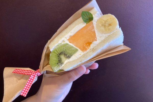 フルーツサンド メロン キウイ バナナ